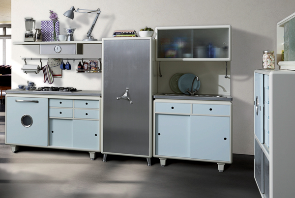 cucine vintage with cucine retro