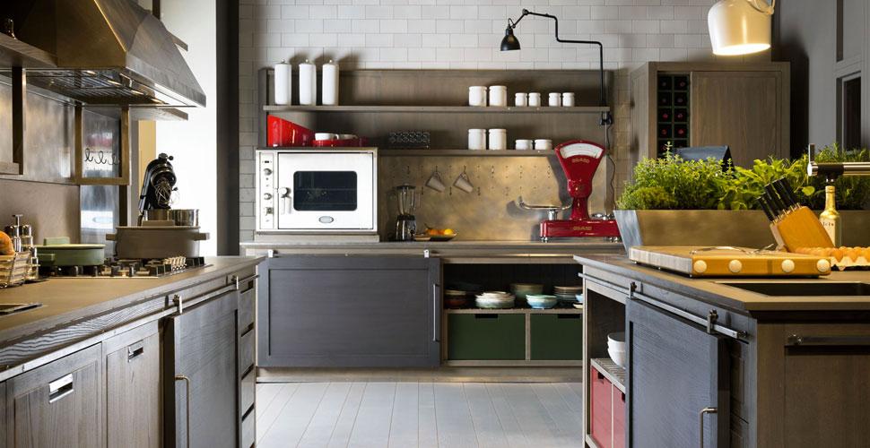 Cucina stile industriale  Mobili Toson