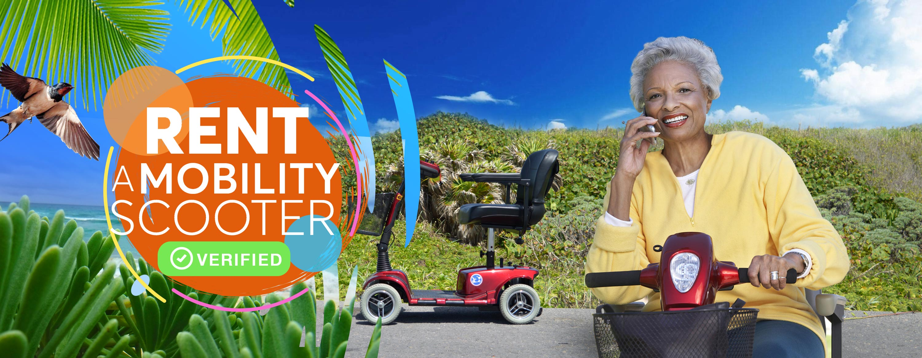 Rent a Mobility Scooter Cozumel