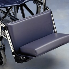 Ez Posture Chair Velvet Blue Posey Leg And Foot Hugger :: Wheelchair Or Positioning Aids