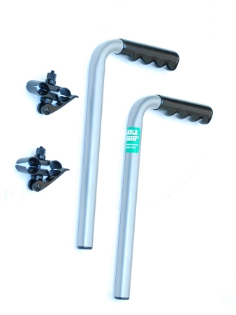wheelchair grips eames chair knock off push handle extenders : 8 inch extensions for