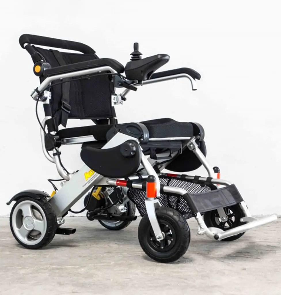 smart chair xl fauteuil roulant electrique pliable jusque 150 kg