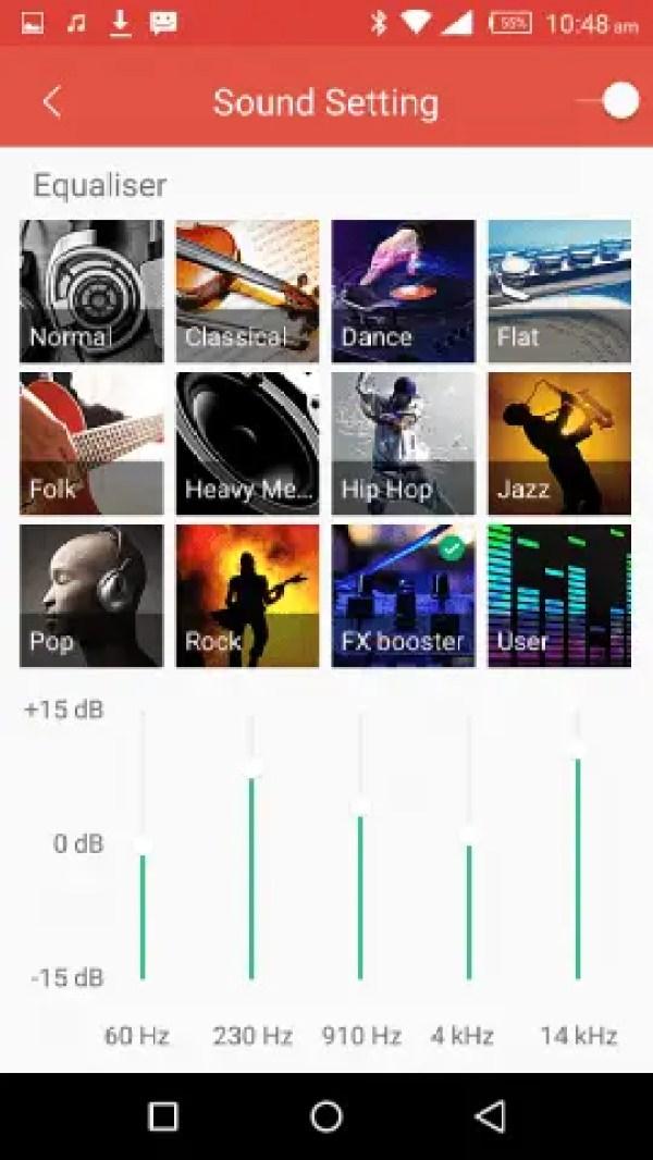 Infinix Music 8