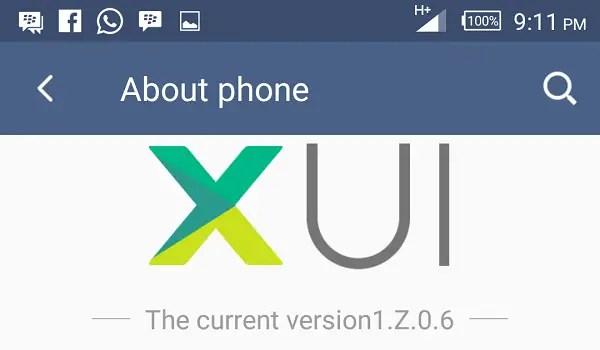 Infinix Zero 3 about phone