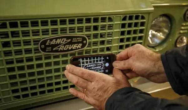 Land Rover Defender -lastgrille