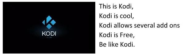 kodi chant
