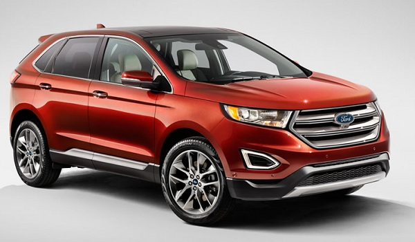 road trip Ford Edge 2015