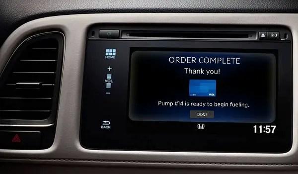 Honda Connected Car - Visa - MWC2016 - demo