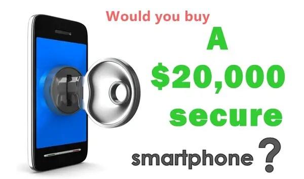 Secure-smartphone