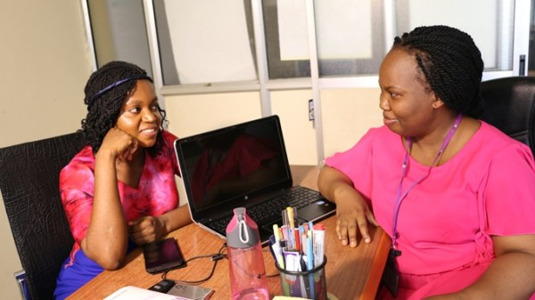 bola agunbiade with roberta edu on the startup show, african startup, nigerian startups