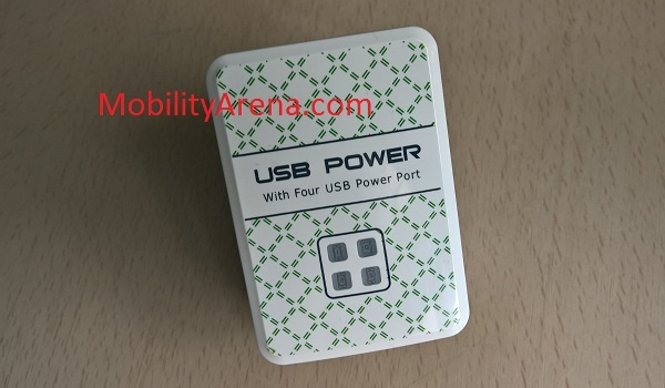 4 Port USB Power Adapter