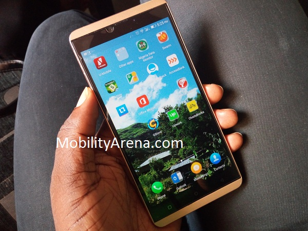 Gionee S Plus photos - in hand