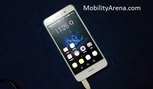Huawei GR3 review - homescreen
