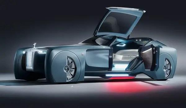Rolls-Royce 103EX open