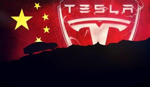Tesla motors china