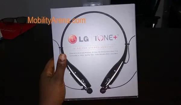 LG Tone Bluetooth Headset pack