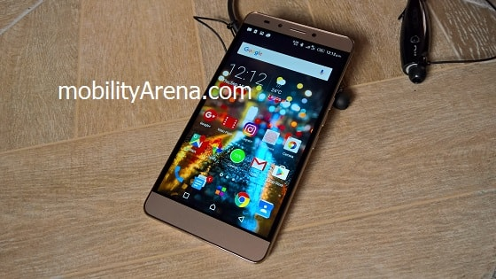 Infinix Note 3 Review -front