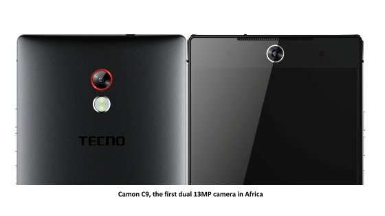 tecno camon c9 first dual 13mp camera in africa
