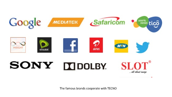 famous brands partner with TECNO Mobile