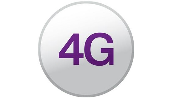 4G logo-  first 4G network