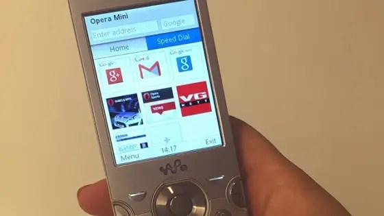lite apps - opera mini