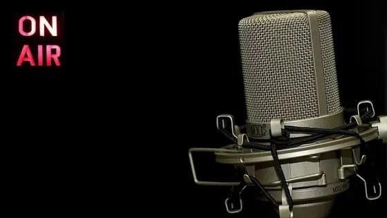 naija tech blogger - radio show microphone