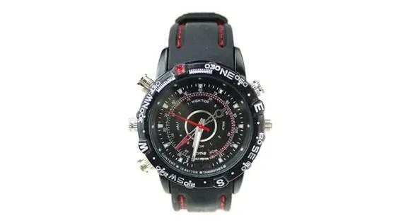 water-proof spy watch