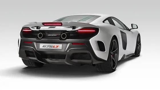MacLaren 675LT -supercar-rear