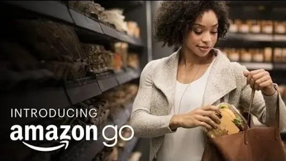 Checkout-free shopping: Amazon Go