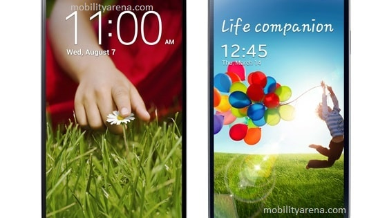 AMOLED and IPS LCD Displays