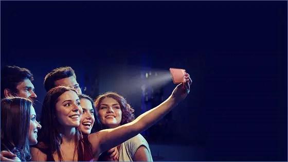 S31 group captures selfie