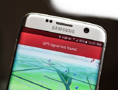 faulty GPS signal