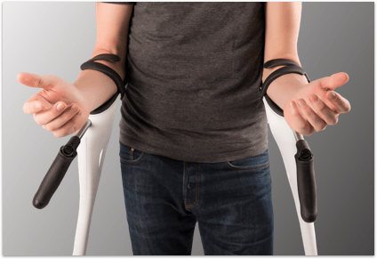 M+D Crutch frees up your hands