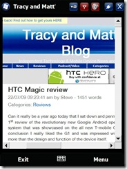 Tracy and Matt's Blog