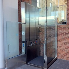 Wheelchair Elevator Better Posture Chair Custom Glass Lifts Installed Recently By Mobility