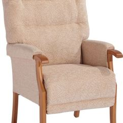 British Mobility Chairs White Leather Swivel Desk Chair Orwell Fireside | For You