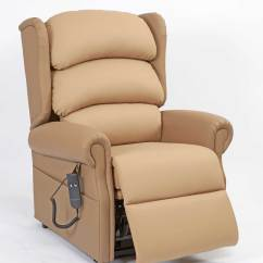 Recliner Chair Height Risers Rattan Swing Rise And Recline For Hire Or Sale