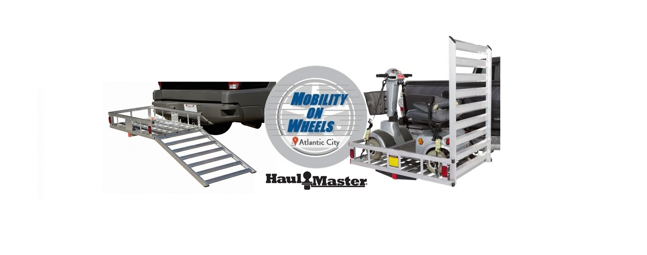 500 lb. Capacity Aluminum Mobility Wheelchair and Scooter Carrier Rental in Atlantic County, NJ