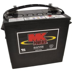 Wheel Chair Batteries Comfy White 12v 55ah Mk Sealed Lead Acid Agm Mobility Scooter