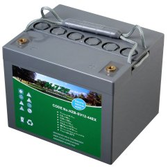 Wheel Chair Batteries Donati Office 12v 56ah Haze High Output Sealed Lead Acid Agm Mobility