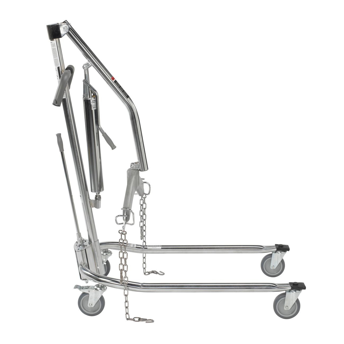 Drive Medical Deluxe Chrome Plated Manual Patient Lift