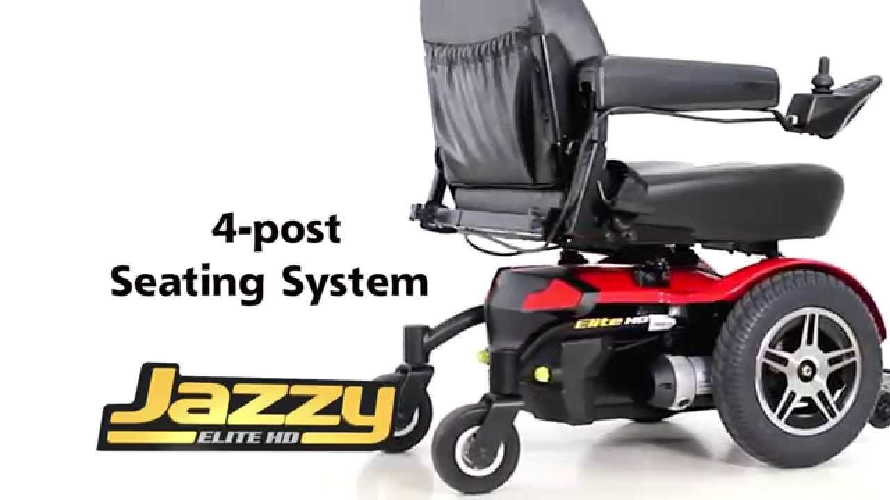 Jazzy Elite HD Power Wheelchair for Sale  Lowest Prices