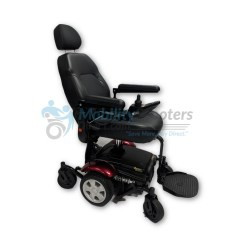 Merits Power Chair Linen Wingback Vision Sport Wheelchair For Sale Lowest Prices