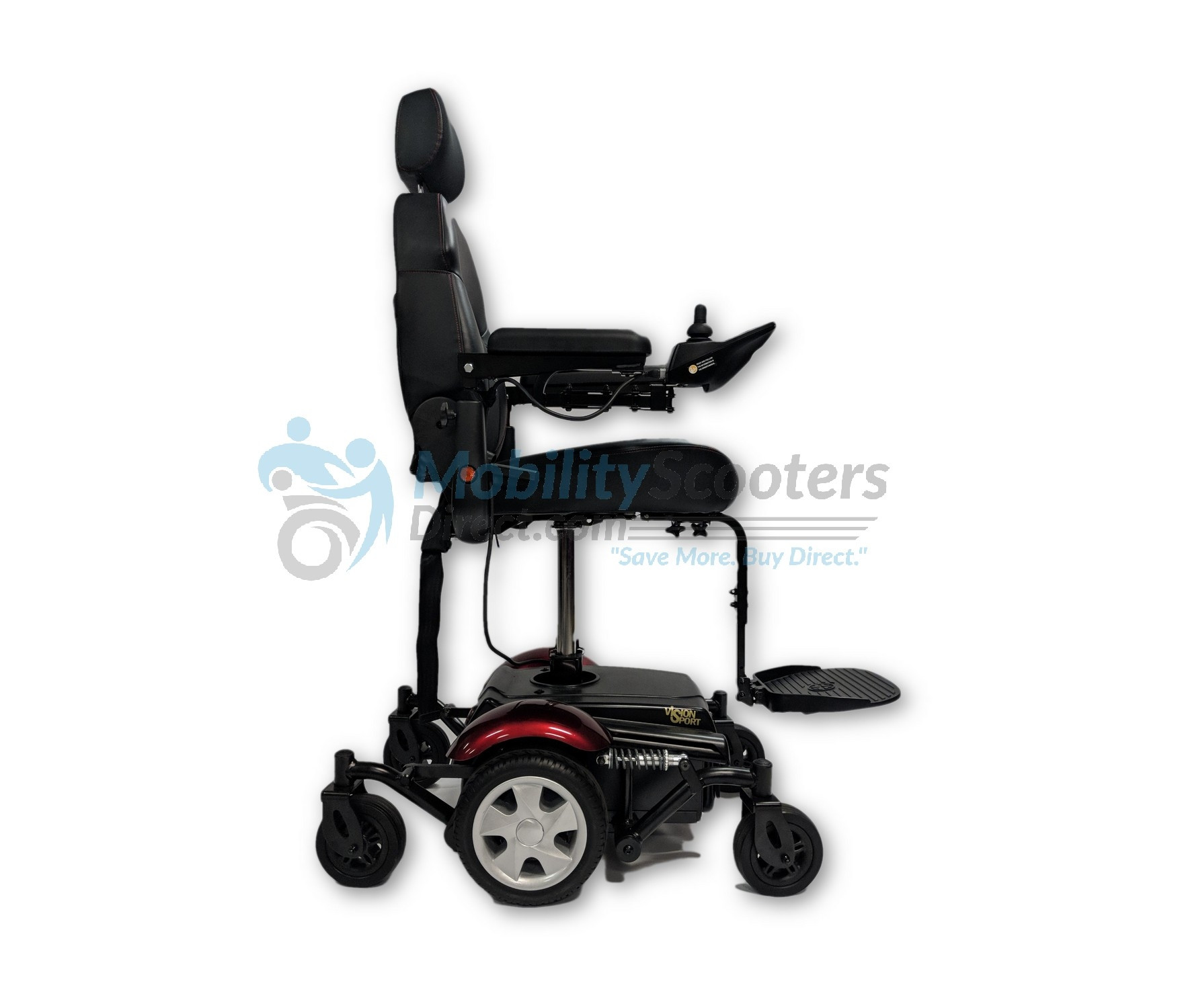merits power chair folding legs vision sport wheelchair for sale lowest prices