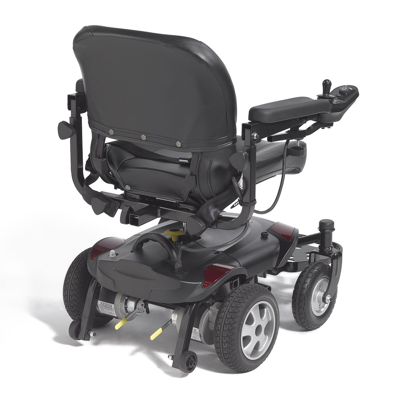 power chair accessories bags plastic outdoor folding lounge chairs drive medical titan lte wheelchair tax free lowest