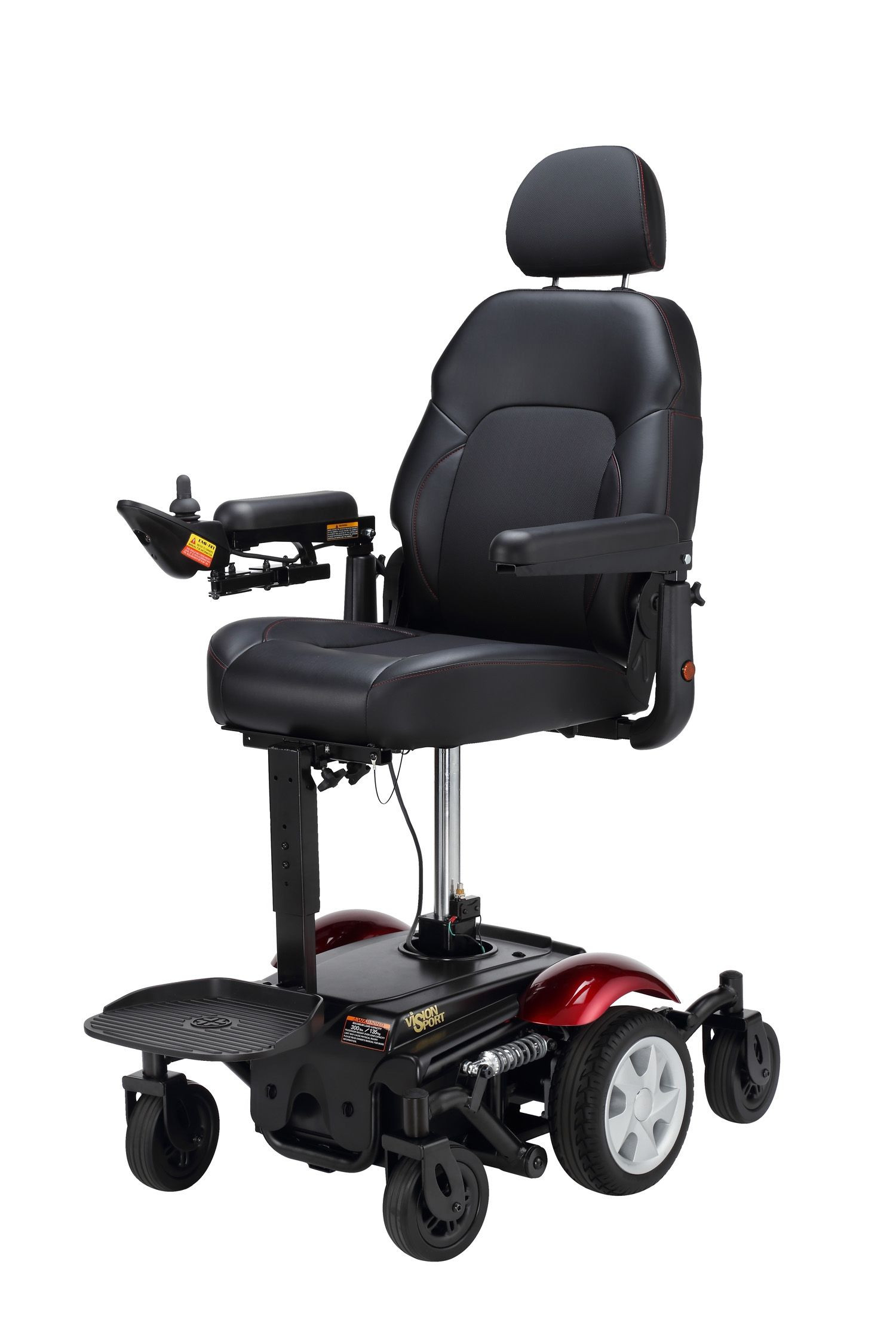 Merits P326D Power Wheelchair with Elevated Seat  Lowest