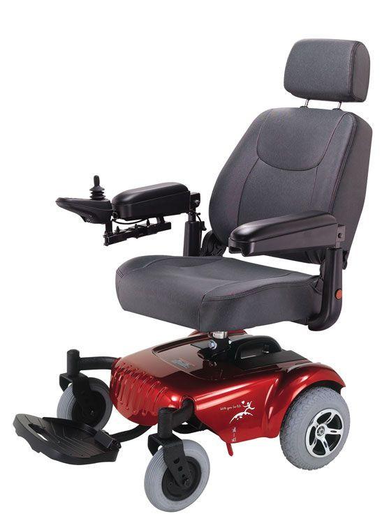 P320 Junior Micro Lite Power Wheelchair by Merits  Tax
