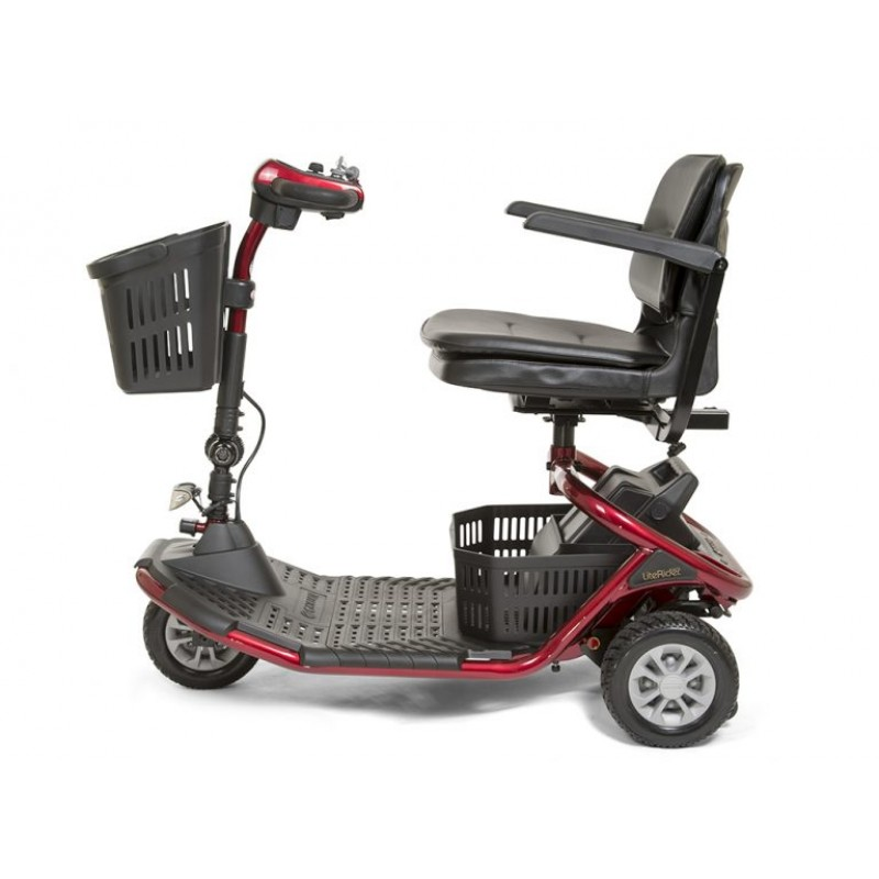 folding quad chair desk on carpet golden technologies literider 3-wheel scooter
