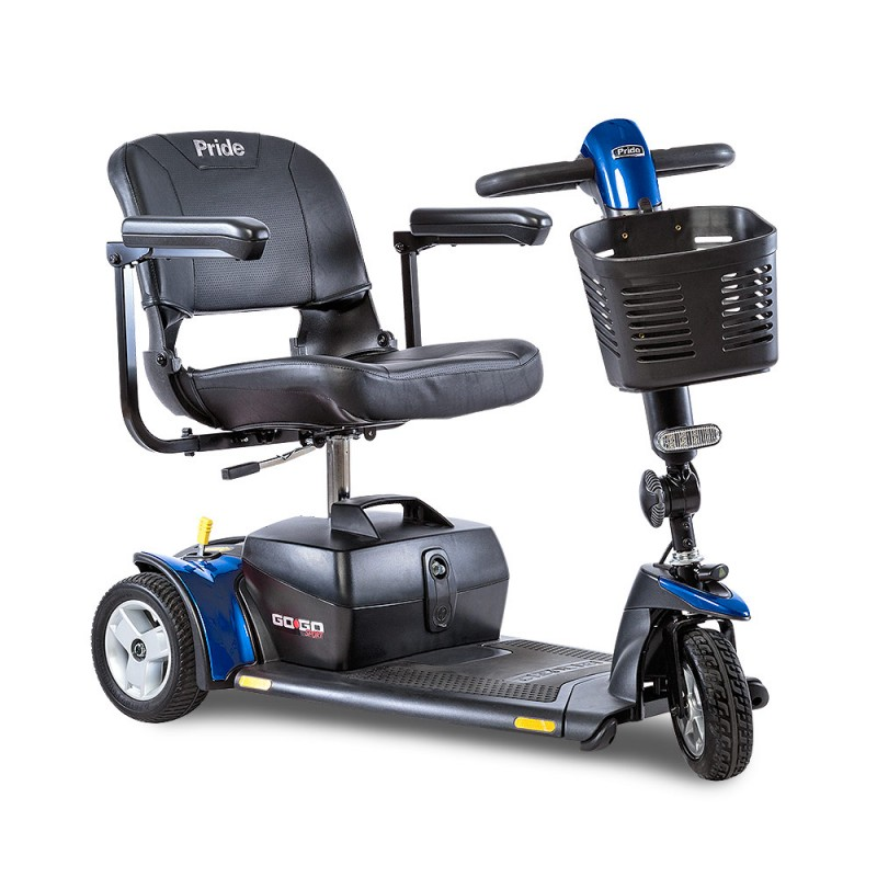 power wheelchair batteries medicare contemporary office guest chairs pride mobility go-go sport 3-wheel scooter - scooters