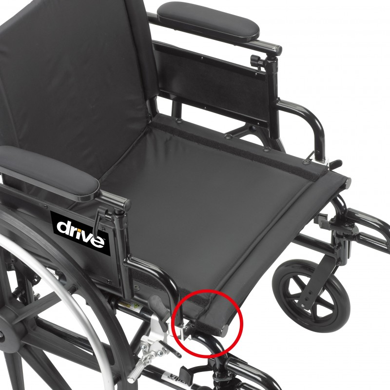Drive Medical Viper Plus GT Wheelchair  Lightweight